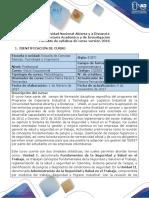 Syllabus Del Curso Salud Ocupacional