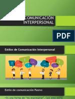 Comunicación Interpersonal Clase 4