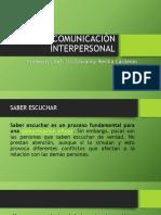 Comunicación Interpersonal Clase 5