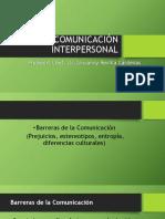 Comunicación Interpersonal Clase 7