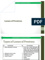 Losses of Prestress