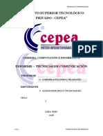 Tecnicas de Comunicación-Informe