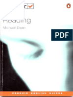 Test Your Reading Michael Dean