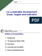 Presentation on the SDGs DOH