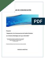 Plan de Comunicación Proyecto Bid 2015 2018 1