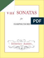 8 Harpsichord Sonatas, Op.1