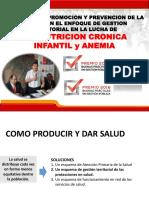 Lima-Enfoque Territorial Salud Tacna Para Anemia y Desnutricion Cron Infantil