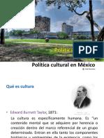 Política cultural y política cultural en México.pptx