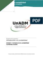 Introducción a La Contabilidad - UNIDAD 1- Contenido Nuclear