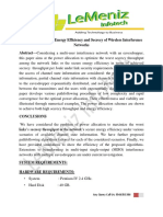 Power Allocation for Energy Efficiency and Secrecy of Wireless Interference Networks