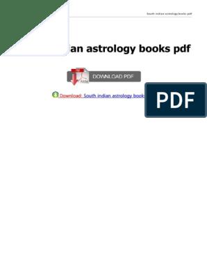 Learn astrology book pdf reader