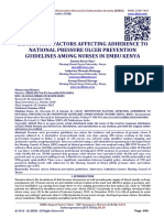 392477318 Institution Factors Affecting Adherence to National Pressure Ulcer Prevention Guidelines Among Nurses in Embu Kenya