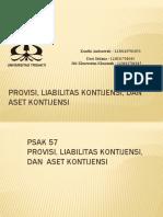 Tugas IFRS_Kelompok 2_Provisi, Aset Kontijensi, Dan Liabilitas Kontijensi