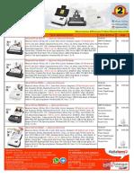 Price List Scanner Plustek 22 Oktober 2018