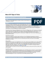 Nikon D70 Tipps & Tricks