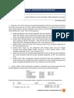 Soal latihan manajemen pajak