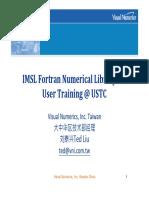 IMSL Fortran