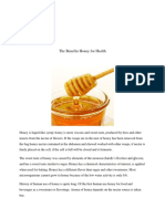 The Benefits Honey for Health.docx