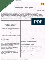 Los Compases y El Rubato en El Barroco Francés