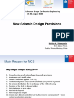 CS2. New Seismic Design Provisions