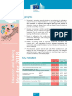 Et Monitor Factsheet 2018 Romania En