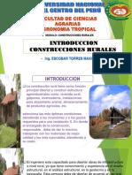 INTRODUCCION DE CONSTRUCCION RURAL