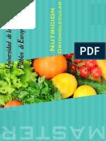 Master Nutricion Ortomolecular