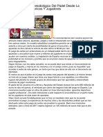 Estudio Social Y Metodológico Del Pádel Desde La Percepción De Técnicos Y Jugadores