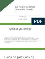 Mujeres Que Hicieron Aportes Importantes en La Historia 6-2