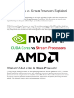 CUDA vs Stream