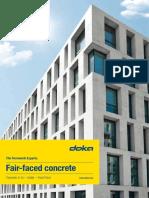 Fair Faced Concrete