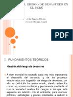 Gestión Del Riesgo de Desastres en El Perú
