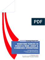 Maritime Forces in Peace & War (UK)