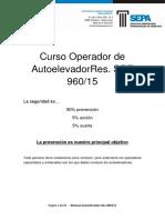 Manual Operador de Autoelevador