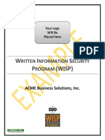 2018.1 Example WISP ISO 27002 Written Information Security Program