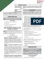 Ley que incorpora el Capítulo V a la Ley 28553 Ley General de Protección a las Personas con Diabetes
