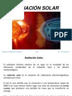 Radiación Solar 2018