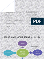 Tugas Kelompok - Environmental Factor in Blum Teory