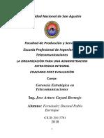 Trabajo Gerencia Estreategica Coaching Post Evaluacion