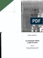 Alfredo eidelsztein - La locura - las estructuras clínicas a partir de lacan