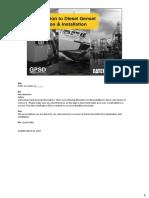 Diesel Genset Appl and Inst