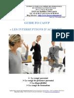 Gude FO CASVP Les interruptions d'activité.pdf