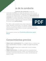 Structuras de La Conducta
