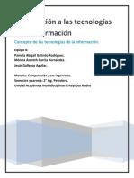 Concepto de Las Tecnologías de Información