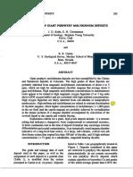Genesis Porphyry Moybdenum Deposits