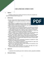 Diseño de Lines de Conduccion