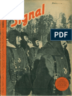 Signal anul 4, nr. 5, martie 1943 ed.romaneasca