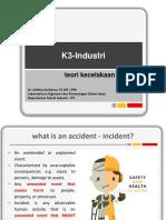 #Teori Kecelakaan Kerja-part 1