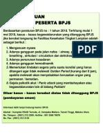peraturan bpjs 2