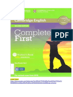Complete First 2015 Student s Book With Answers